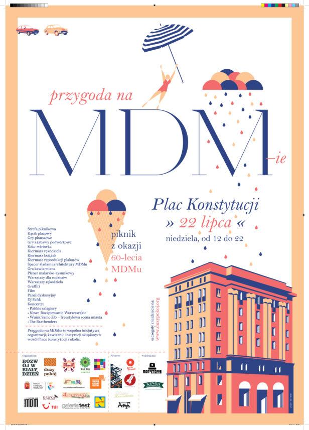 MDM ma 60 lat materiały promocyjne