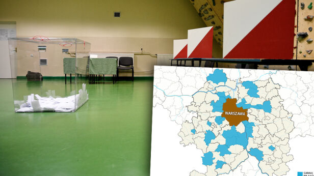 Wybory pod Warszawą Darek Delmanowicz / PAP
