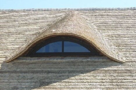 Dach Z Wióra Osikowego Dekarstwo Ekologiczne Pmk