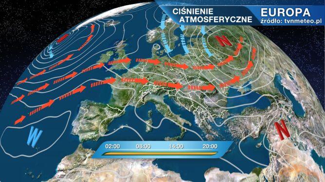 Chłodne i wilgotne powietrze wypchnie z Polski ciepło