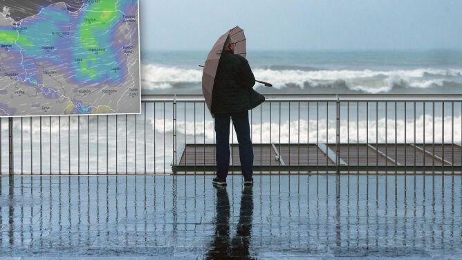 Pogoda na pięć dni: pochmurny, deszczowy i wietrzny weekend