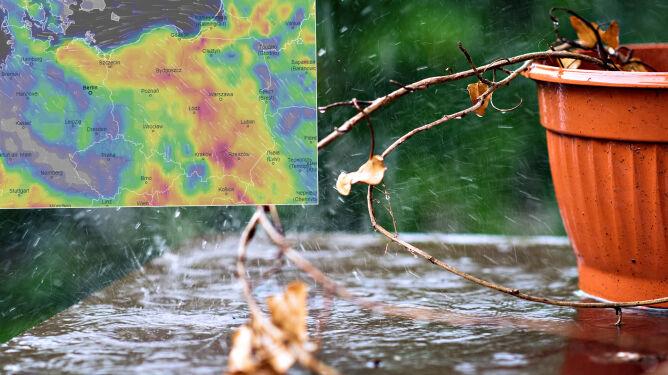 Pogoda na 5 dni: w weekend miejscami upał, ale i gwałtowne burze