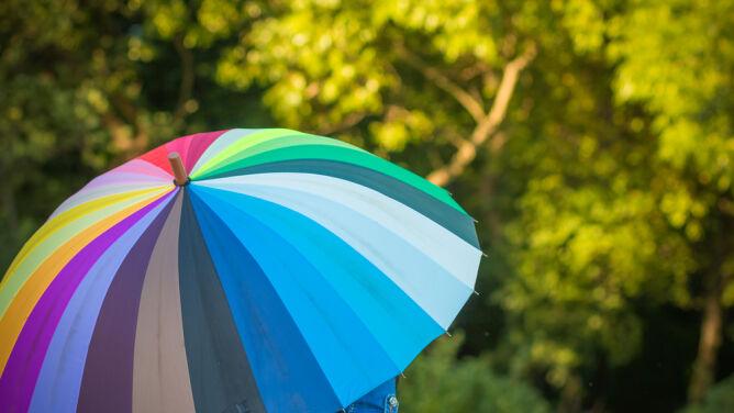 Prognoza pogody na dziś: <br />okresowe opady deszczu i burze