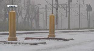 Zimowa aura w Czerwińsku