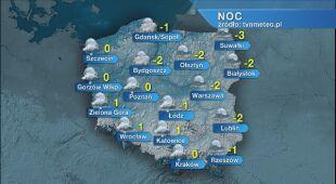Prognoza pogody na noc 16/17.03