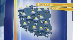 Dorota Gardias o pogodzie i burzach w czwartek