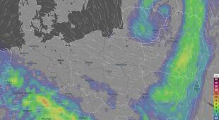 Prognoza opadów w Polsce