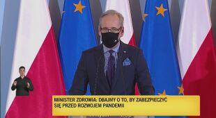 Minister Zdrowia Adam Niedzielski o testach antygenowych